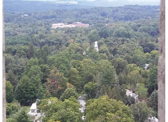 Bennington Battle Monument: Looking out