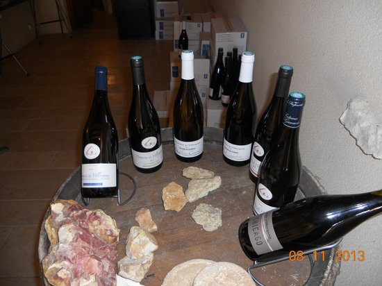 Domaine de Villargeau, : Our Wine and Cheese Tasting