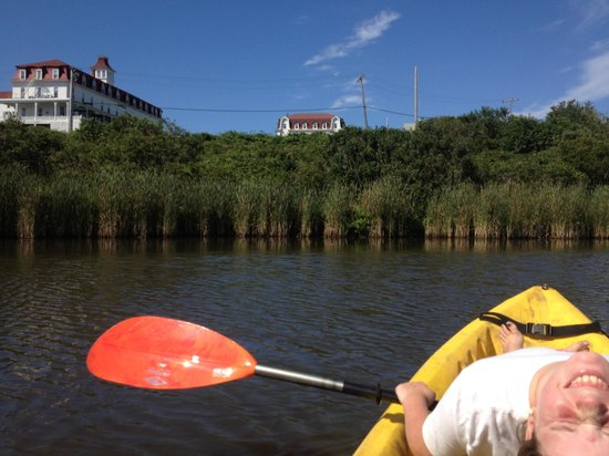 The Sea Breeze: And Kayaks as well