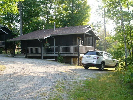 Log Cabin Inn: Unit #6 at the end