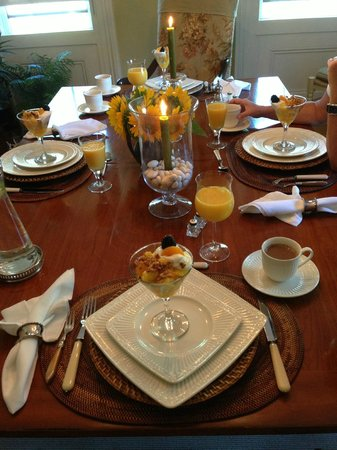 The Morning Glory Bed & Breakfast: ... lecker ...