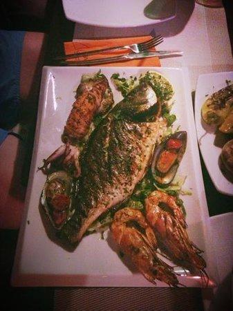 Sky Lounge : рыба
