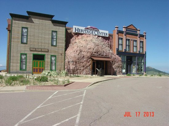 Cripple Creek Heritage and Information Center: Front entrance 2
