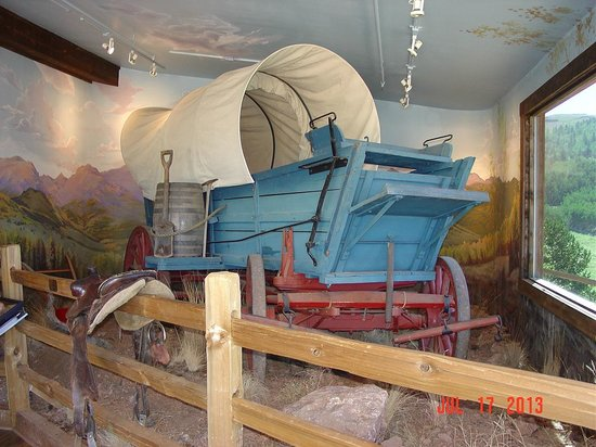 Cripple Creek Heritage and Information Center: Wagon display