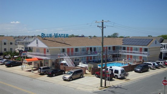 Blue water motel wildwood crest nj omd men och for Blue fish inn cape may nj