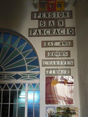 Pension San Pancracio: entrada da pousada