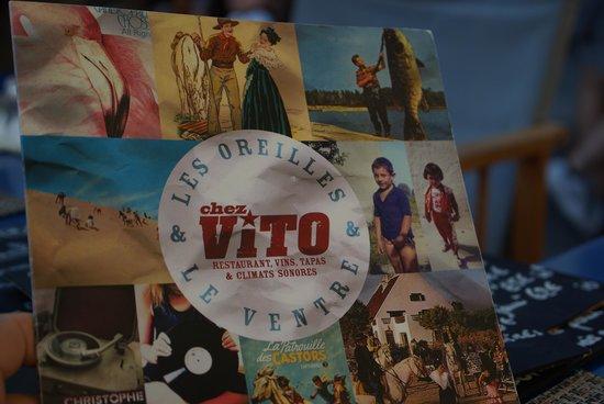 Chez Vito : la carte