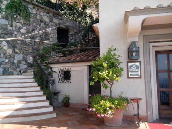 Ravello Art Hotel Marmorata, BW PREMIER Collection: ingresso hotel