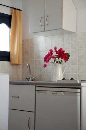 Elisso's Philoxenia: fully equipped kitchenette
