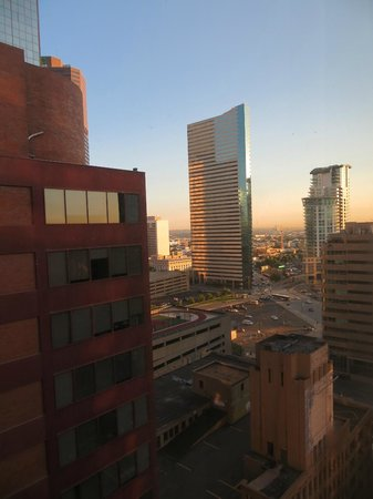 Holiday Inn Express Denver Downtown: the view from our suite