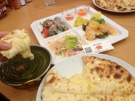 Naan House: Lunch set