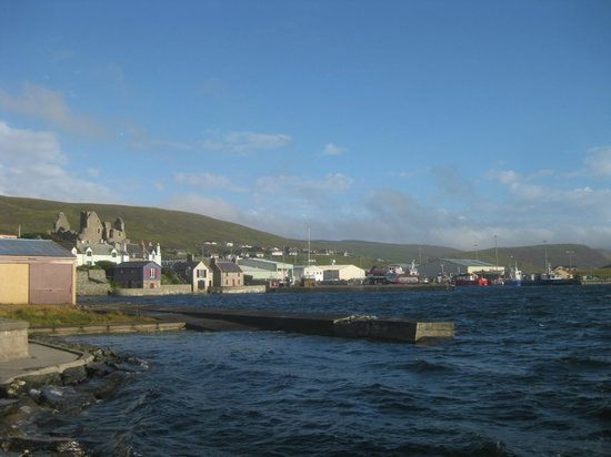 Scalloway Hotel: view from room 201