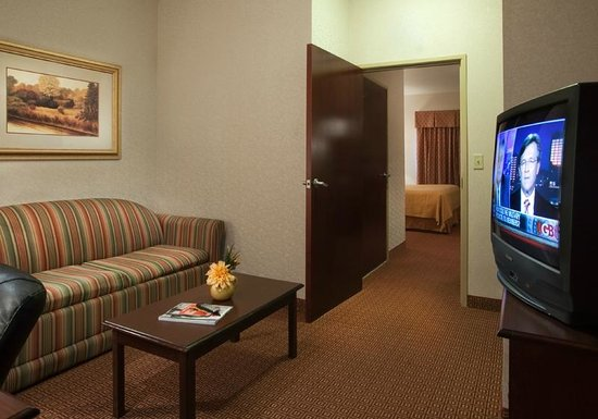 Quality Inn & Suites Near University: King Suite