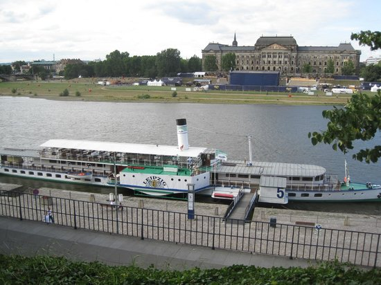 The river elbe cruise boat 39 leipzig 39 picture of bruehl for 22 river terrace review