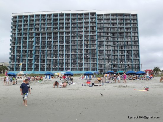 ocean side Picture of Landmark Resort Myrtle Beach