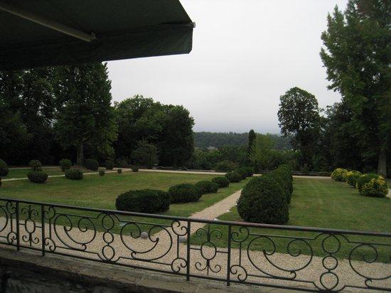 Hotel Villa Navarre : vista jardín