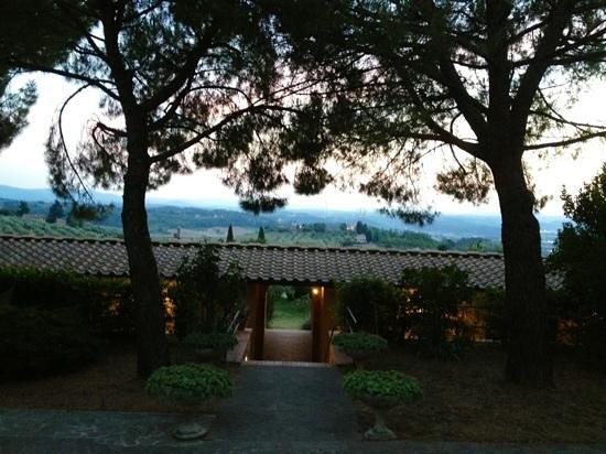 Hotel Villa San Giorgio: Cala la sera a Villa San Giorgio