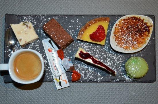 L'Olympe Cafe: Café gourmand