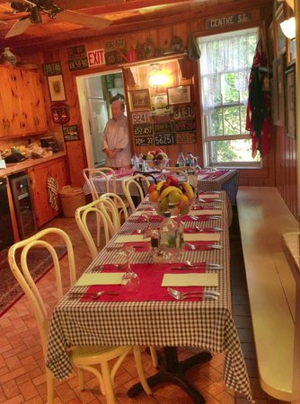 Century House: Gerry has everything ready