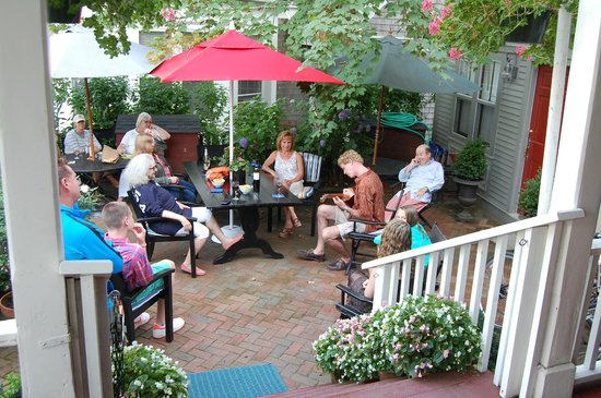 Century House: Music on the south patio