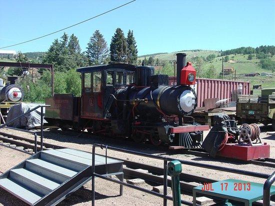 Cripple Creek & Victor Narrow Gauge Railroad: Old engine Number 1
