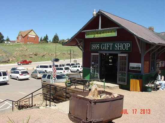 Cripple Creek & Victor Narrow Gauge Railroad: Gift shop