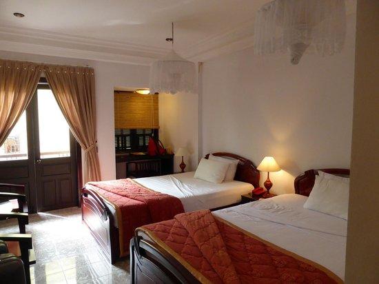 Thuy Duong 3 Hotel : chambre twin