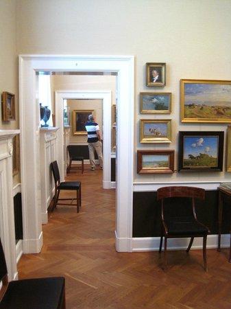 Hirschsprung Collection (Hirschsprungske Samling): A sequence of rooms in the museum