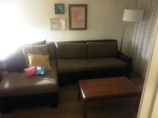 Residence Inn Merrillville: Room 326 Pull out sofa