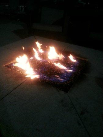 Residence Inn Merrillville: Fire pit