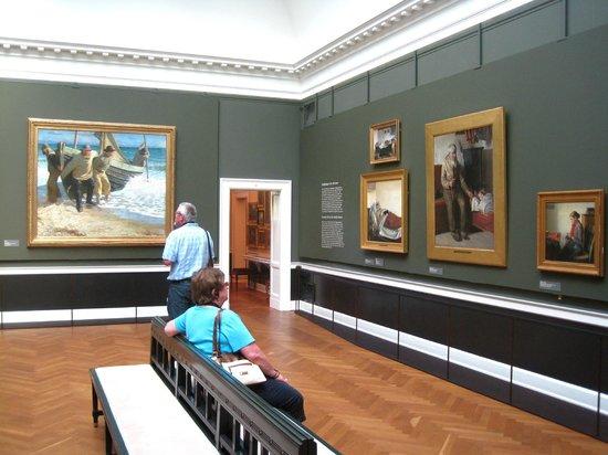 Hirschsprung Collection (Hirschsprungske Samling) : Room of Skagen School paintings
