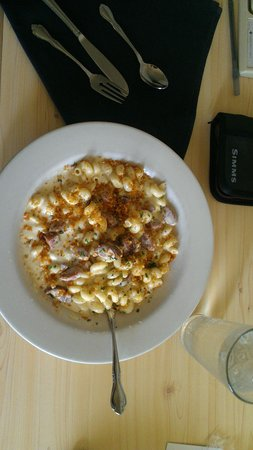 Cape Fox Lodge : Reindeer Mac & Cheese :-)