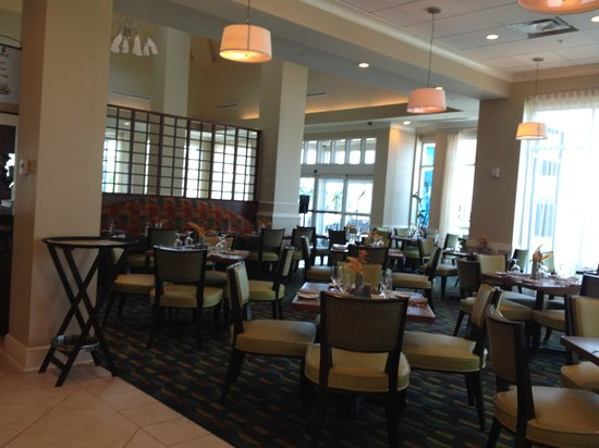 Hilton Garden Inn Tampa Airport Westshore: Dining Room