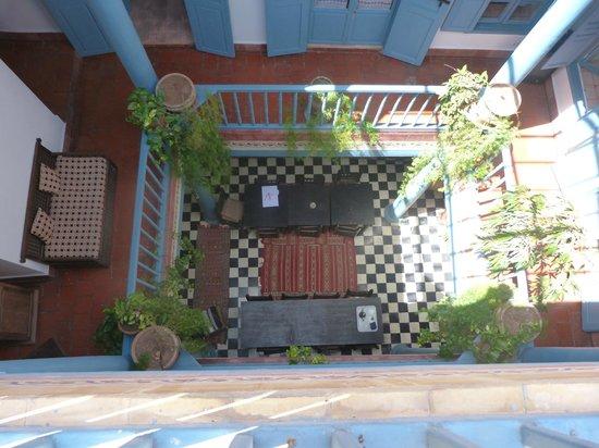 Hotel Les Matins Bleus: vue du 2°