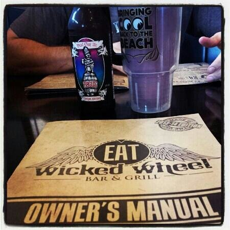 The Wicked Wheel Bar & Grill: pow!