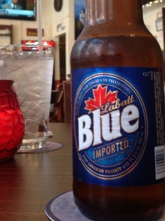 The Pioneer Patio Restaurant : Have a favorite brew with your meal!  Even a beer from Canada!