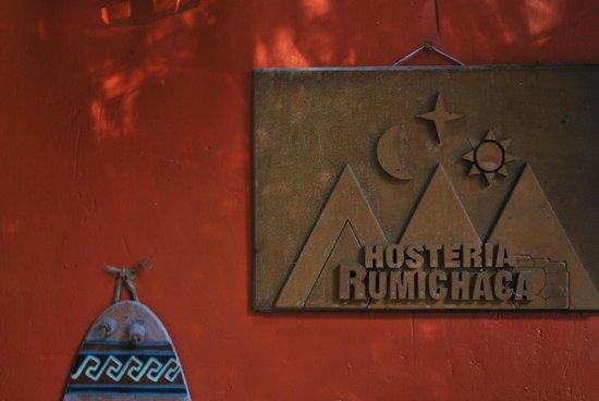Hosteria Rumichaca: Entrance