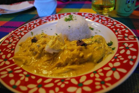 Hosteria Rumichaca: Favorite dish! Aji de Gallina!