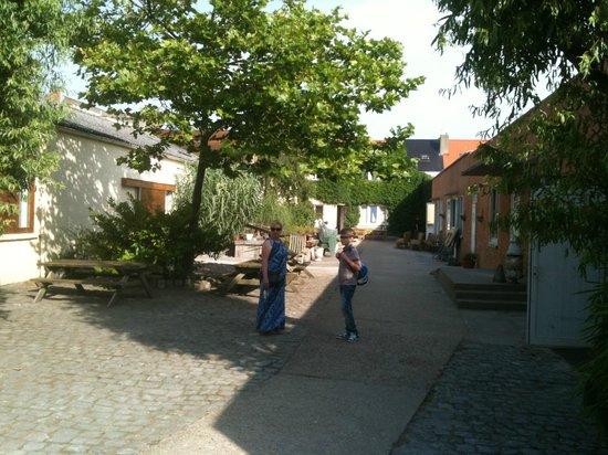 Oesterhoeve : The courtyard