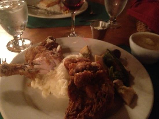 Pollock Dining Room: fried chicken