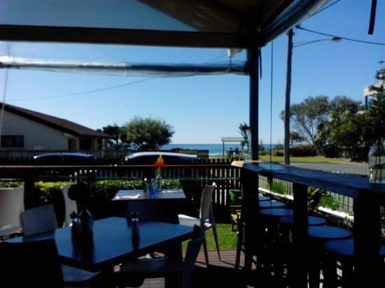 Avvia Cafe-Restaurant: View from our table