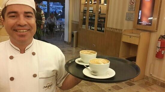 San Antonio: feliz dia del cafe peruano
