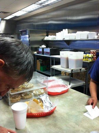Blue Coast Burrito: You go through a line ordering, food is fresh, well prepared, sauces are original --and wonderfu