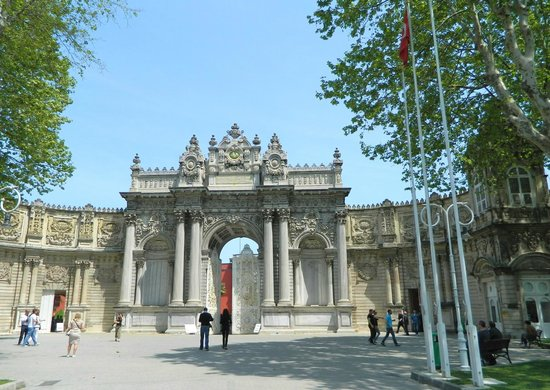 The Gate Of The Sultan Picture Of Dolmabahce Palace