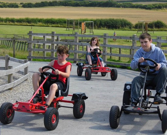 Playdale Farm Park: go cart fun