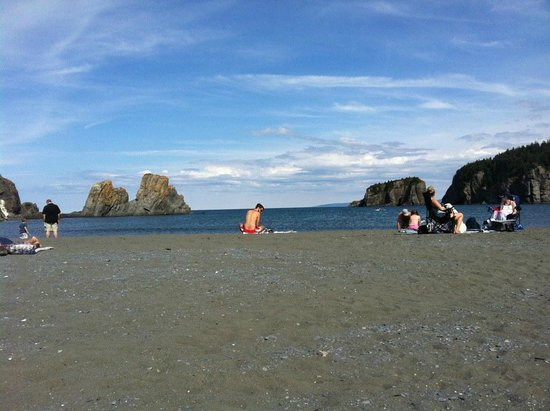 Salmon Cove Sands: Beach