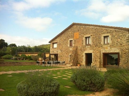 RV Hotel Ses Arrels : masia morning