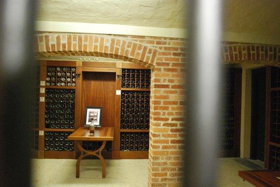 Deering Estate: wine cellar