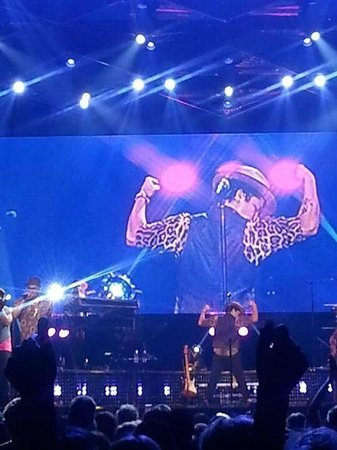 Philips Arena : Bruno Mars -Moon Shine Jungle Tour!