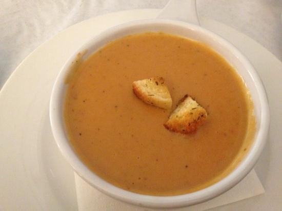 Dominique's Kitchen, 本日のスープ ロブスター 品が良く